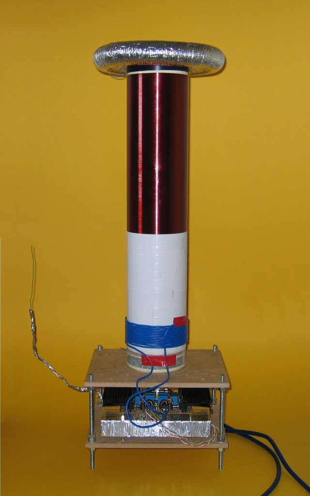 how to make a solid state tesla coil